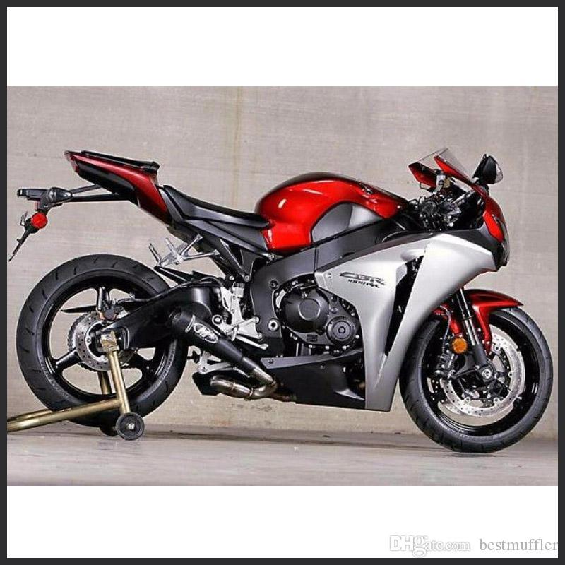 38-51mm Tubo de ventilación de escape de motocicleta M4 Carreras de escape para Yamaha R6 Para Kawasaki M4 Para Honda CBR1000 YA003