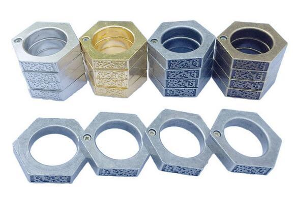 Knuckle duster belt buckle F-S THICK CHROMED KIRSITE BRASS KNUCKLES DUSTERS Boxing Protective Gear