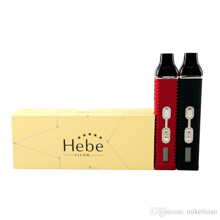 Herb Titan 2 Kit Dry Herb Vaporizador ecigarette herbario vaporizadores Vape kit Titan 2200mah Control de temperatura Systerm LCD Dispaly VS TFV8