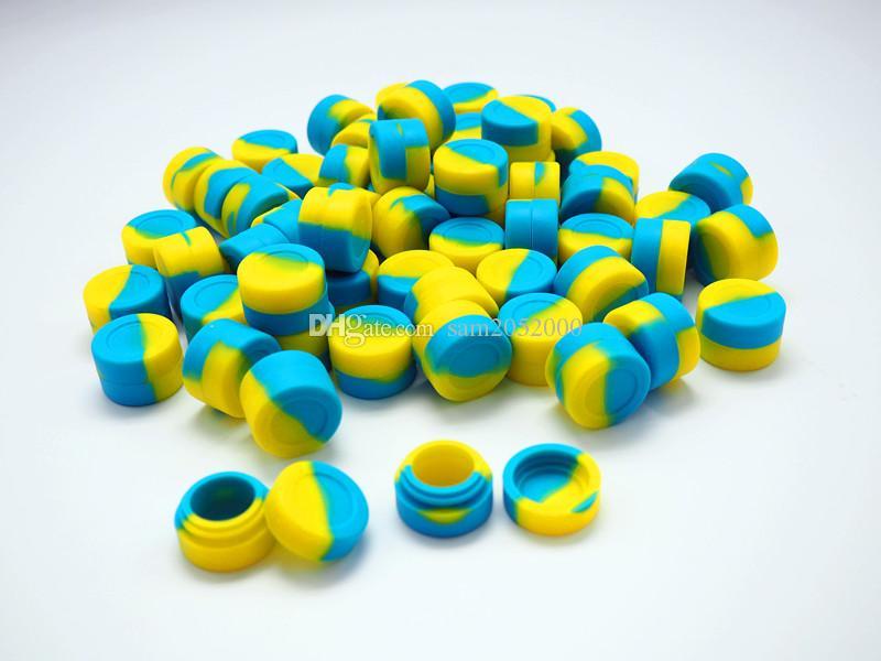 contenitori antiaderenti del silicone del commestibile Contenitore antiaderante del silicone di vendita calda la vasca di cera del bastone del concentrato