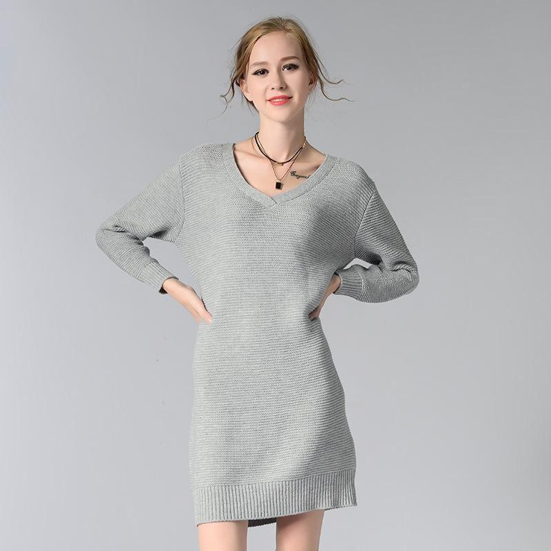 Vestido de invierno para mujer