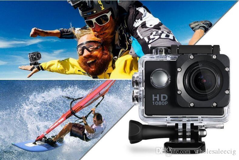 Cheapest copy for SJ4000 A9 style 2 Inch LCD Screen mini camera 1080P Full HD Action Camera 30M Waterproof Camcorders Helmet Sport DV