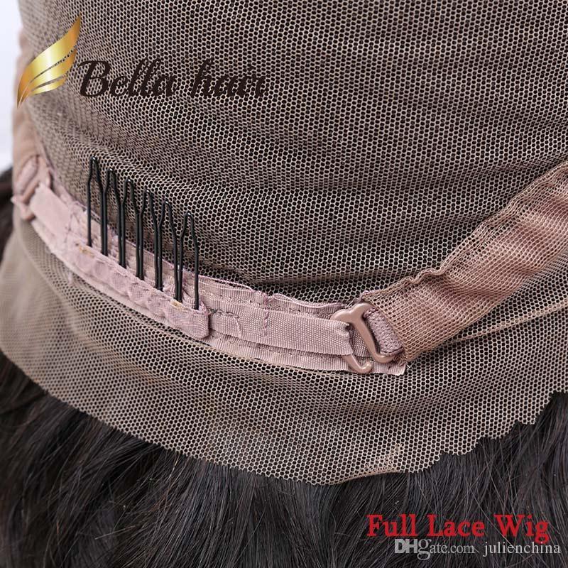 Brazilian Short Curly Bob Cut Human Hair Glueless Wig/Full Lace Wig/Lace Front/360 For Black Women BellaHair