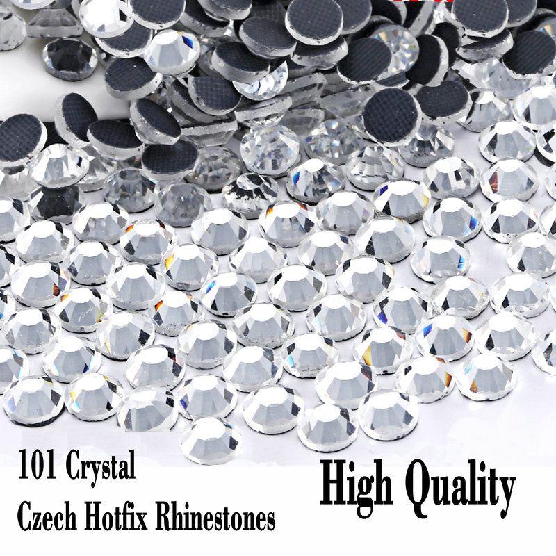 cf721bf9f76a6 2019 Looser Shiny Glass Czech Rhinetones Flatback High Quality SS6 SS10  SS16 SS20 SS30 Crystal Hot Fix Rhinestones From Linda88888, $4.11 |  DHgate.Com