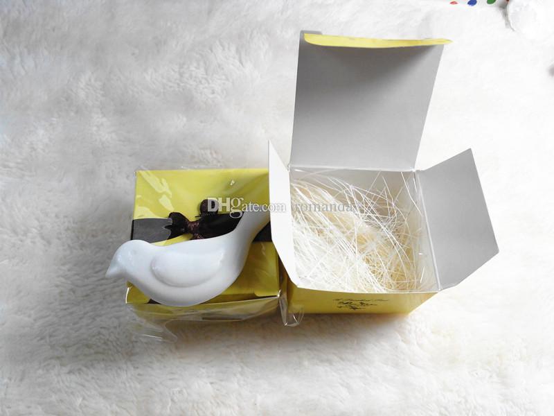 Venta al por mayor artística perfumada pequeño pájaro jabones para la boda favores regalo ducha de bebé jabón decorativo mano Savon DHL envío gratis