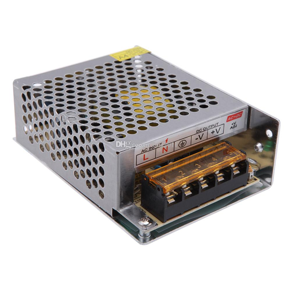 AC 110V / 220V a DC 12V 5A 60W Convertidor de voltaje variable Protección contra cortocircuitos Led Strip Billboard Switching Power Supply