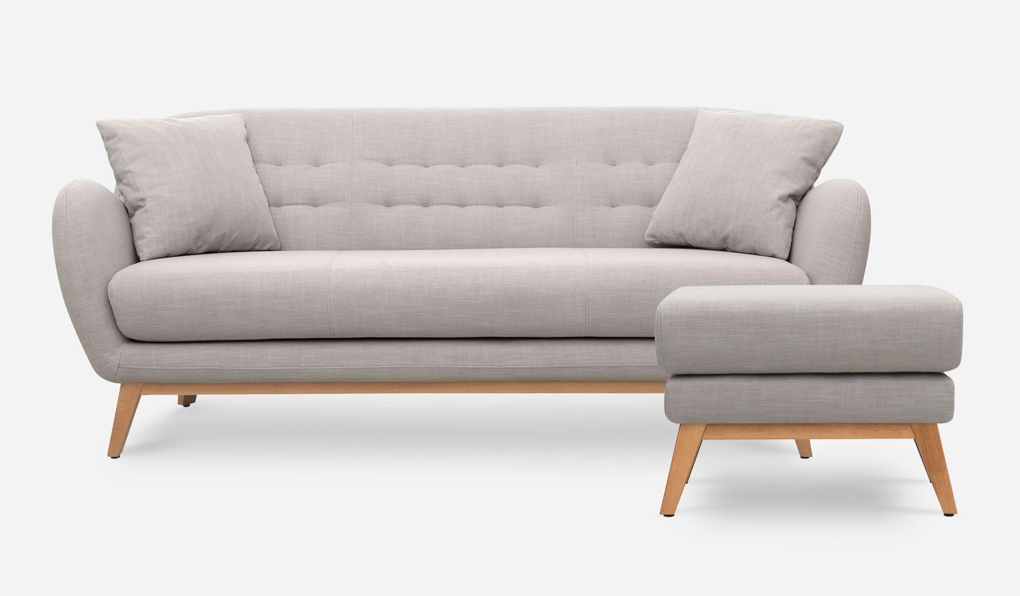 2018 Mid Century Modern Armchair Legs Wooden Lounger Living Room ...