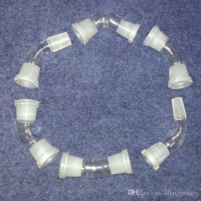 10 стилей 45 градусов угол стекла бонг адаптер 18 мм 14 мм и женский мужской выбрать стеклянную трубу конвентер 45 градусов 14,4 мм 18,8 мм