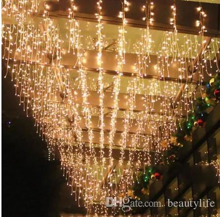 AC 220V-240V EU AU Plug 5M rideau de glaçon lumières de jardin lampes de jardin de Noël lumières de glaçon noël décorations de noël