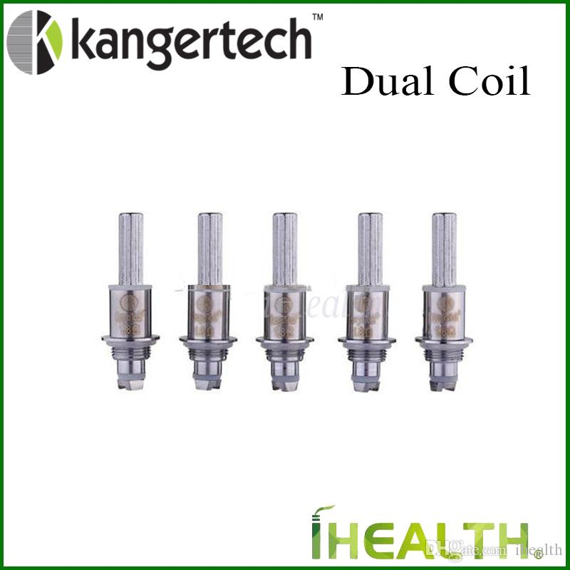 وحدة Kangertech المزدوجة لفائف Kangertech Cartomizer المحدّثة Kanger Dual Coil Head لـ Aerotank Protank 3 EVOD Glass tank أصيلة