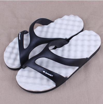 Оптовая продажа-горячая 2017 летний пляж сандалии главная ванная комната плоские тапочки пляжная обувь шлепанцы для мужчин женщин новых любителей