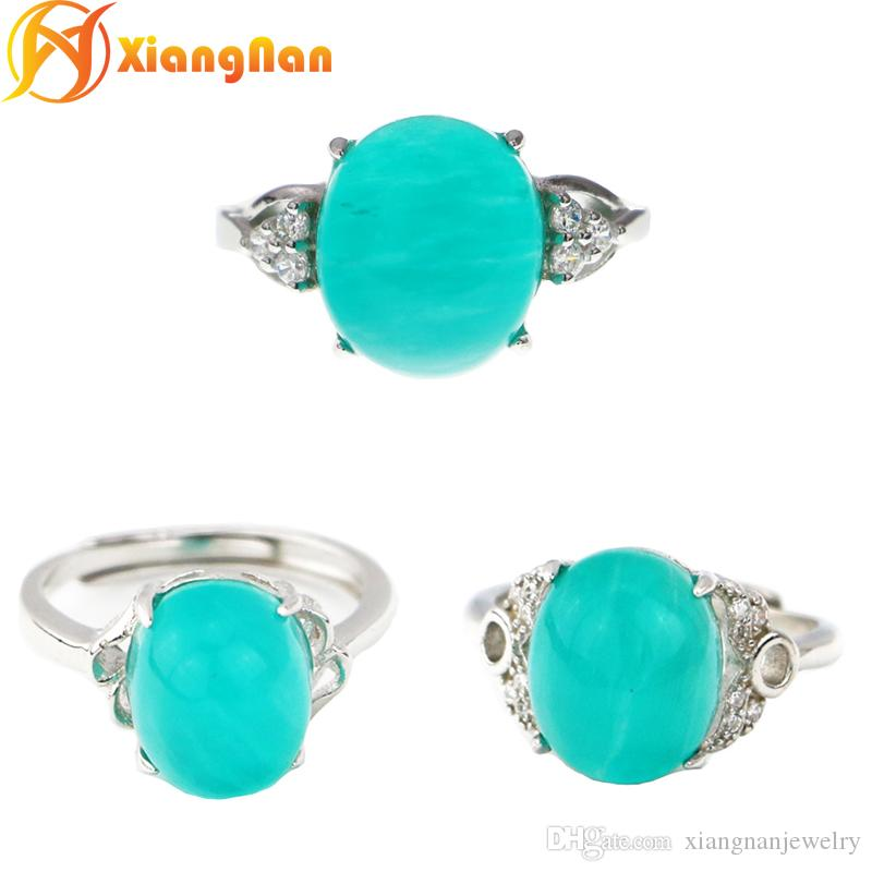 shell rings silversmith village dsc ring amazonite scallop product