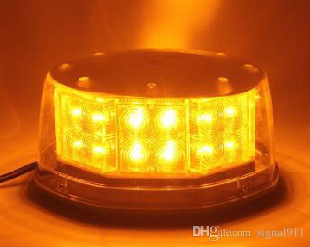Lumières d'avertissement de voiture de haute qualité 32W menées, lumière de secours, gyrophare pour la police, ambulance, camion de pompier, montage par magnetics, imperméable à l'eau