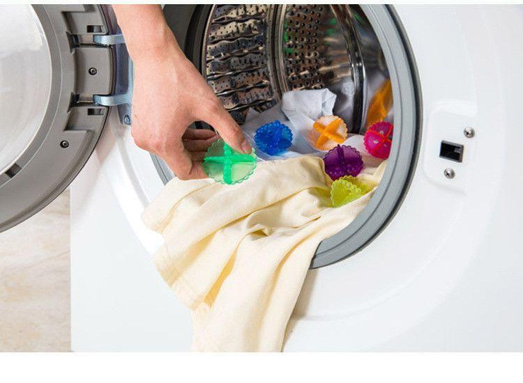 Coreia novo estilo forte descontaminação limpeza bola máquina de lavar roupa de lavar roupa bola casa ferramenta de limpeza IA738
