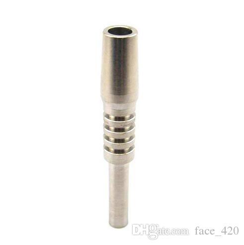 14mm 2.0 Conseils GR2 Nails de Titanium Domeless Titanium Pure TI Conseils mâles 14mm Fit pour les tuyaux d'eau concentré