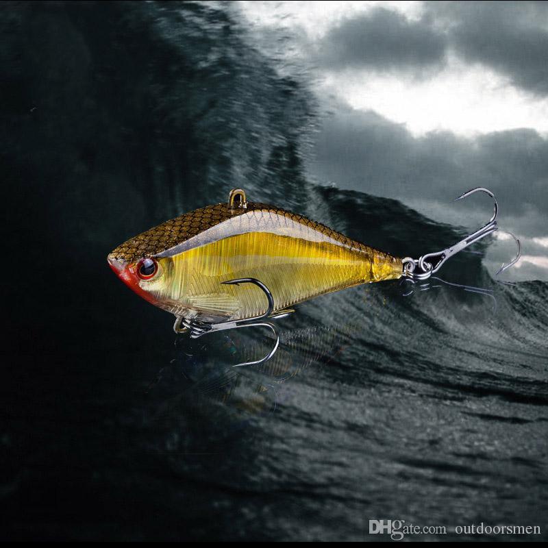 5 / PSC 6,3 cm 14 Gamska Przynęta Winter Fishing Hard Bait Vib Z Ołów Wewnątrz Lodu Wędkarstwo Wędkarstwo Fly Fishing Wobler Przynęty