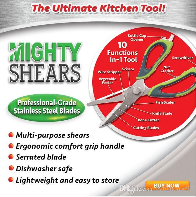 mighty shears scissors the ultimate kitchen tool mighty shears
