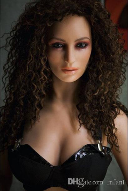 Sex Pop Volwassen Seksspeeltjes Heren Sexy Meisje Opblaasbare Semi-Solid Silicone Love Doll /