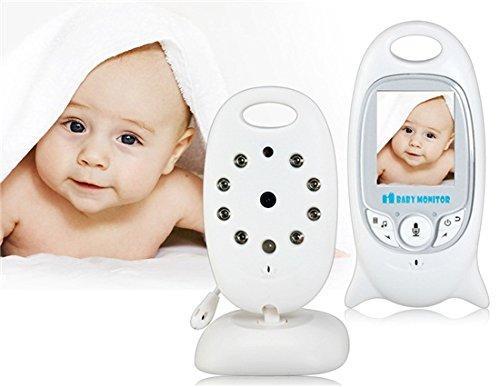 2.0 inch LCD Wireless Video Baby Monitor Intercom with IR Lullabies Temperature Indicator VB601 Babyfoon Baby Camera