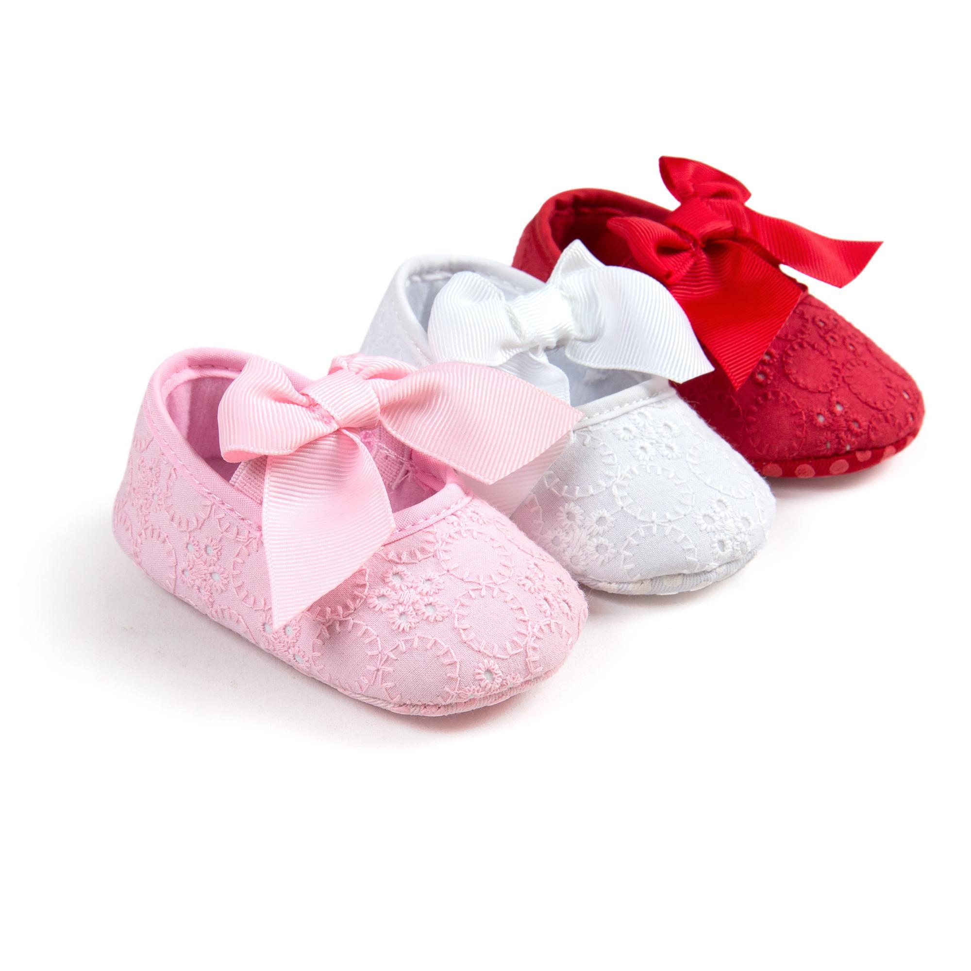 2018 Newborn Princess Baby Girls Shoes Girl Anti Slip Soft Toddler