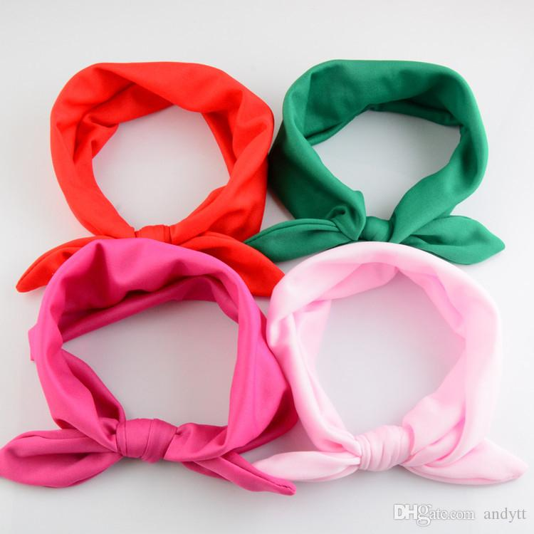 Wholesale - Europe and the United States sell headwear children headbands baby rabbit ears headdress Hair Accessories A0300