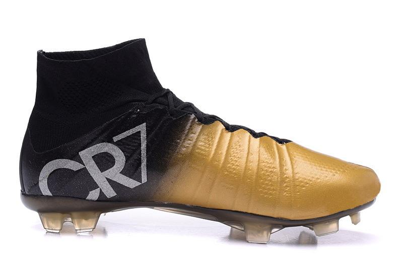 49d4c8d98 2019 2015 New Arrival Super Light Cristiano Ronaldo CR7 High Cut Soccer Football  Boots Shoes Cleats Carbon Fiber Bottom Blackout Ankle Shoes From Wishlists