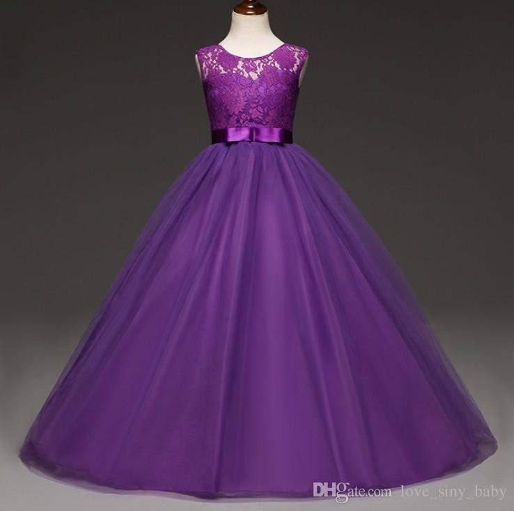 2018 Evening Dresses For Girls For 5 14 Years Old Children Dresses ...