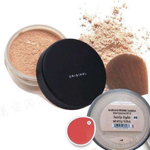 Makeup Minerals Original Foundation FPS 15 Foundation 8g Moyen Moyen Assez léger Moyen Beige Nouveau Chaud