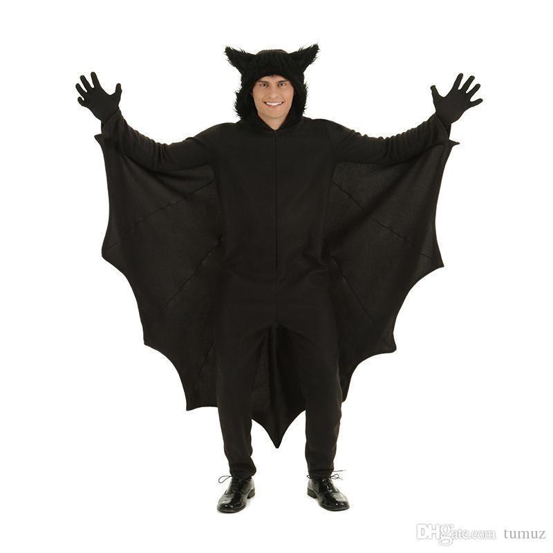 هالوين ، بذلة الأولاد ، زي الخفافيش ، ملابس أداء محايدة للأطفال