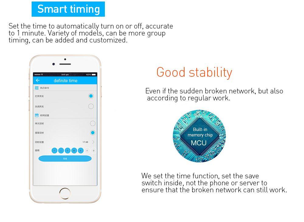 Sonoff Wifi Smart Wireless Switch Telecomando Modulo relè di automazione Universale DIY Smart Domotica Dispositivo 10A 220V AC 90-250V