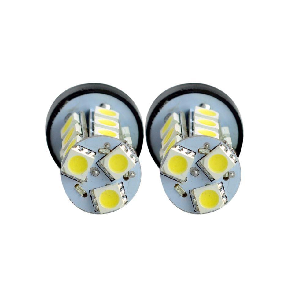 T20 LED Car Light Bulb 7440 7441 18 LEDs 5050 SMD DC 12V White 6000K DRL Brake Tail Reverse Lights Universal LED Lamp