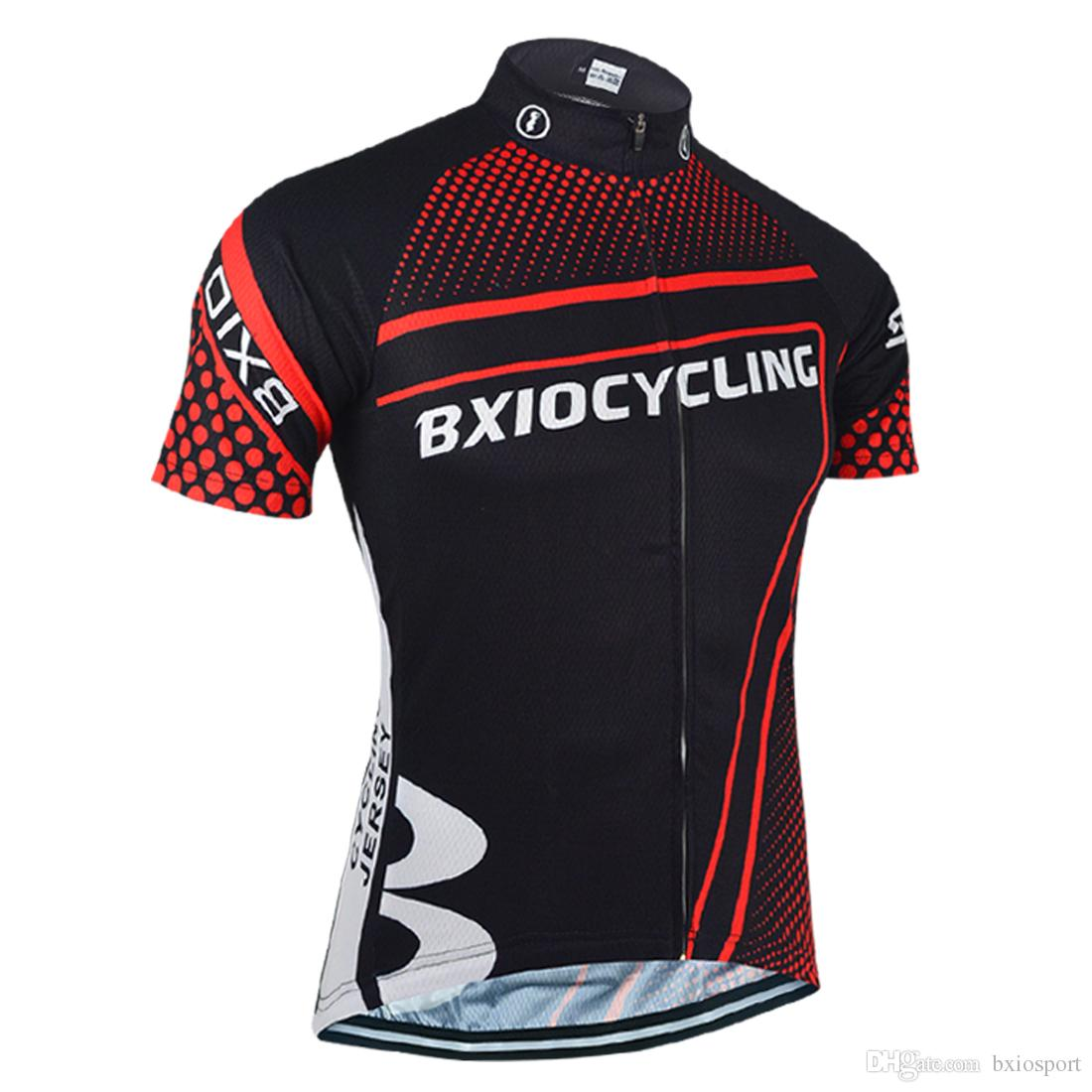 1a4018ddf BXIO Brand Cycling Jersey Short Sleeve Bike Clothing Men Breathable ...