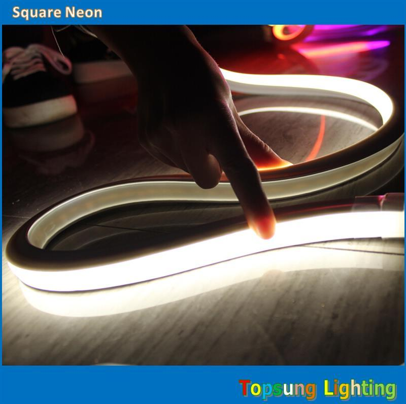 2018 164 spool 16x16mm square flat smd led neon rope lights