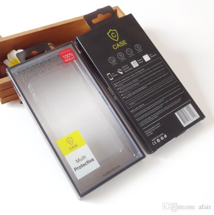 Универсальный ПВХ Пластиковых Empty розничного пакет коробка сотового телефона дело Коробка для Iphone 11 Pro Max XS XR X 8 7 6 плюс Samsung