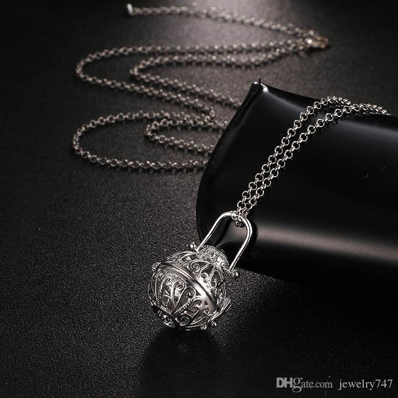 Ароматерапия Диффузор Ожерелья Эфирное Масло Диффузор Медальон Ожерелье Духи Кулон Ароматерапия Медальон Кулон Диффузор Ожерелье 5 Цвет