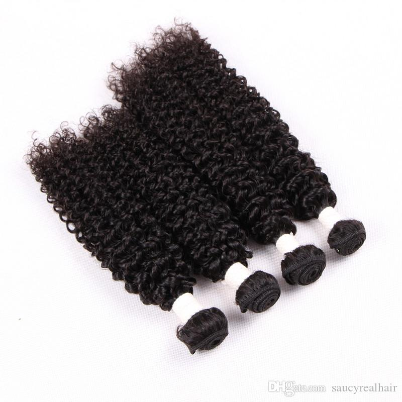 Indian Curly Virgin Hair Jerry Kinky Curly Virgin Hair Tight Curly Weave Cheap Human Hair Bundles, free DHL