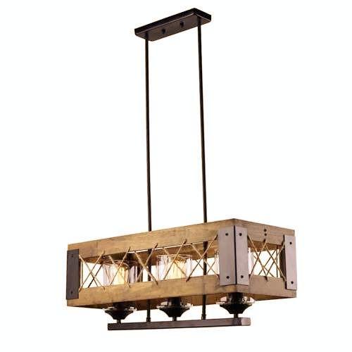 Großhandel Industrial Style 3 Lights Deckenleuchte, Vintage Lampe ...