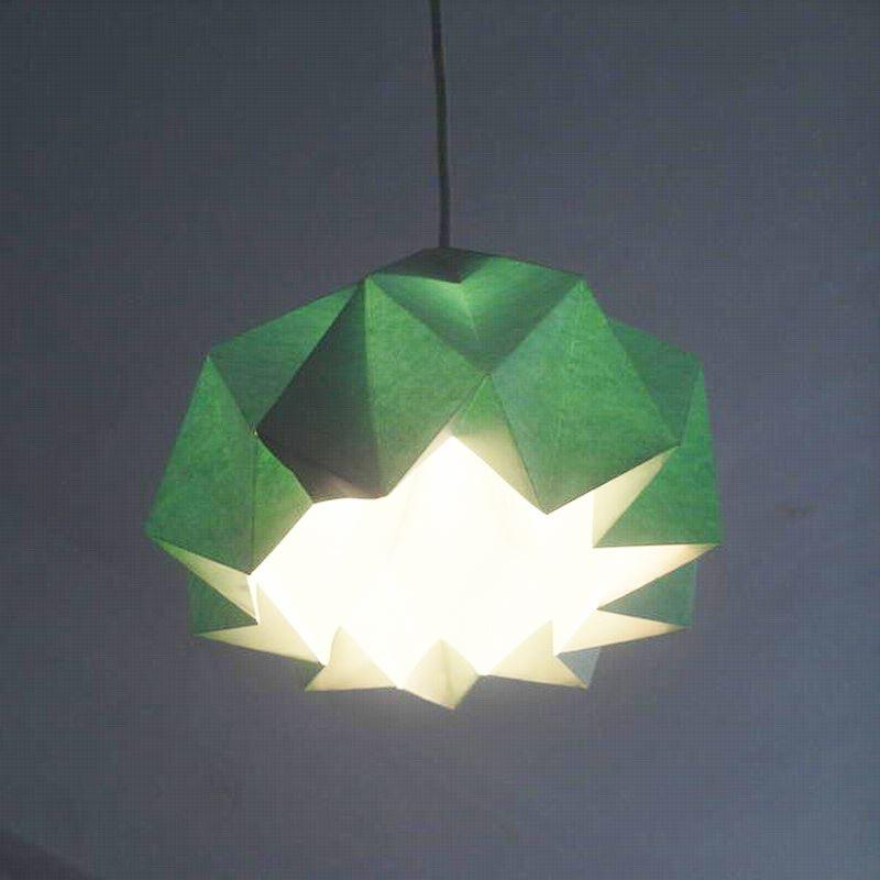 /Single Head Paper Flower Light Pendant Lamp/Diy Paper Folding Lamps/Hanging  Paper Lamp Stainless Steel Pendant Light Commercial Pendant Lighting From  ... Design Inspirations