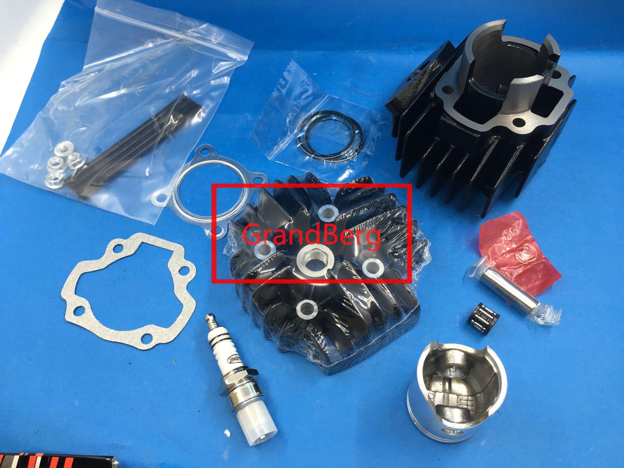 PW 50 PW50 QT50 CYLINDER HEAD PISTON GASKET KIT fit for YAMAHA PW50:  1981-2009 Q
