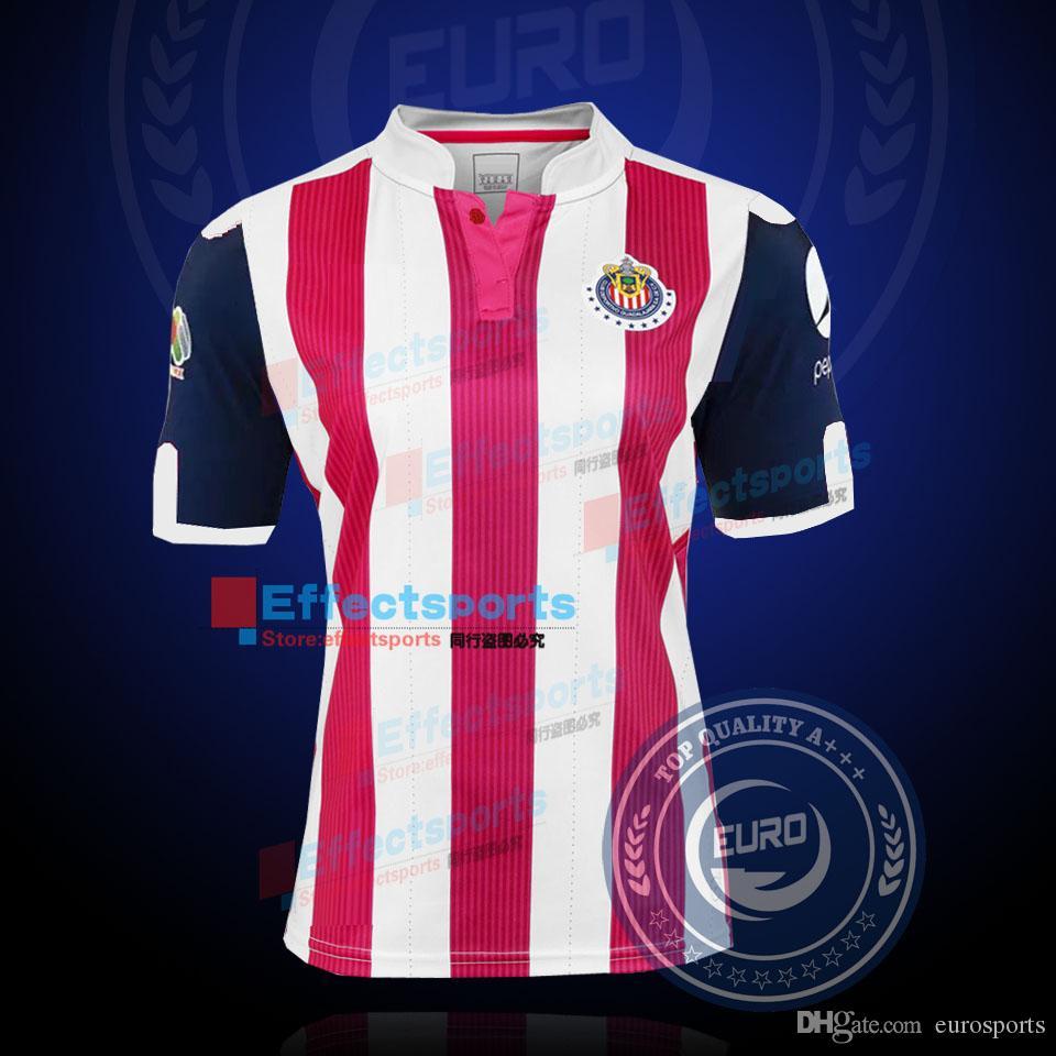Top Quality 2016/17 Chivas Soccer Jersey Guadalajara Camisetas De ...