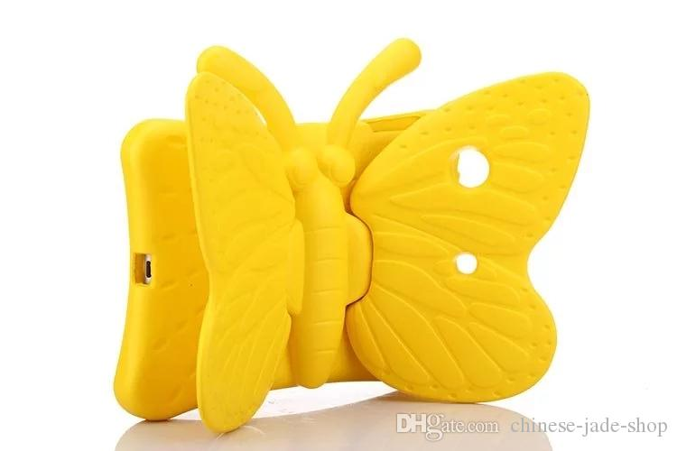 Butterfly Design Shockproof Kids Handle EVA Foam Case Cover for iPad Mini 2 3 4 IPAD AIR PRO 9.7 2017 Galaxy Tab 7.0