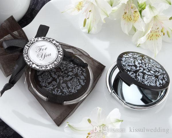 Bridal Shower Party Favors Of Reflections Elegant Black And White