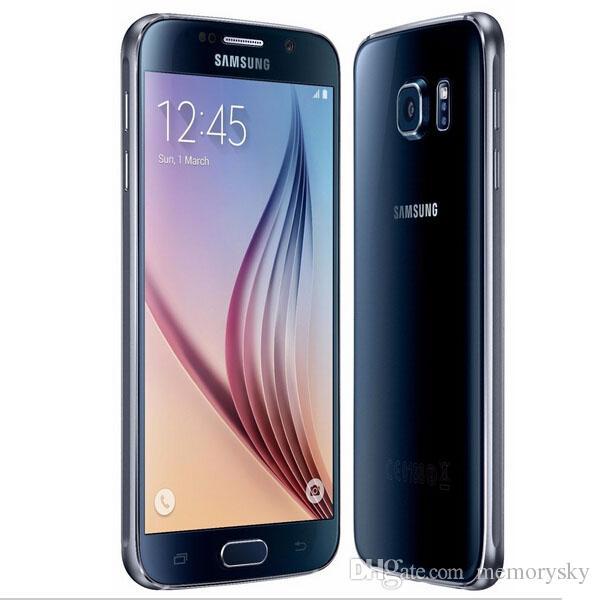 Samsung Galaxy S6 G920A G920T G920P G920V G920F débloqué original débloqué pour téléphone portable Octa Core 3GB / 32GB 16MP 5.1 pouces 4G LTE