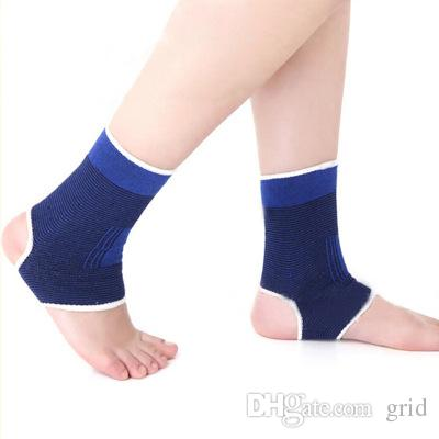 Wholesale Elastic Outdoor Sports Exercise Football Soccer Volleyball Tennis Safety Ankle Support Brace Protection Guard Protector