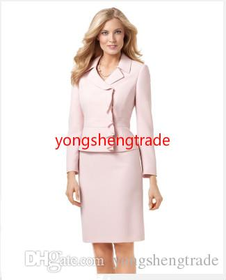Hot Sell Women Clothing Custom Made Pink Women Suit Perfect For Any Occasion
