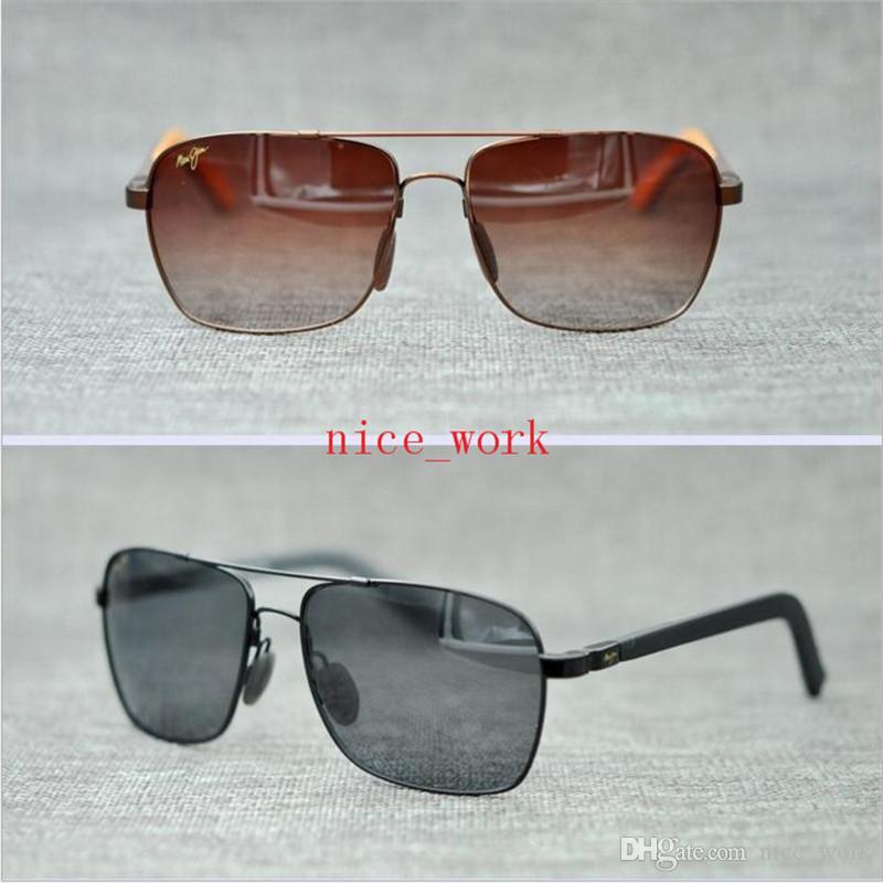 b8424b56227a Brand Designer-2017 Maui Jim Sunglasses 326 Fright Trains Sunglasses  Polarized Lens MJ SPORT Men Women Sunglasses Driving SquareTR with Case Maui  Jim MJ .