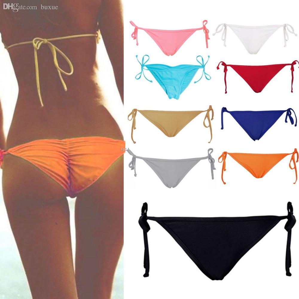 Bikini bottom culotte