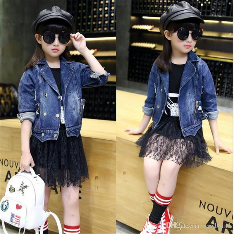 e82c53f4eb85 New Korean Small Girls Jacket Denim Jacket Cotton Jacket And Stylish ...