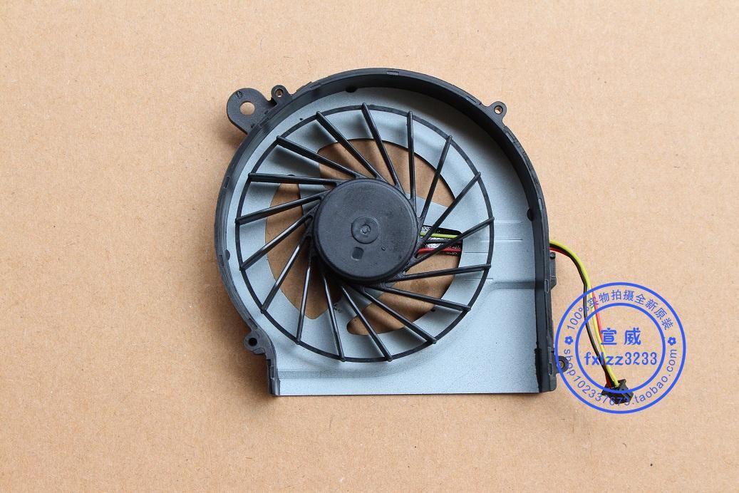 Nuova ventola di raffreddamento HP CQ42 G4 G4-1000 G42 CQ62 G62 G6-1000 G6-1316TX Ventola di raffreddamento CPU pin 646578-001