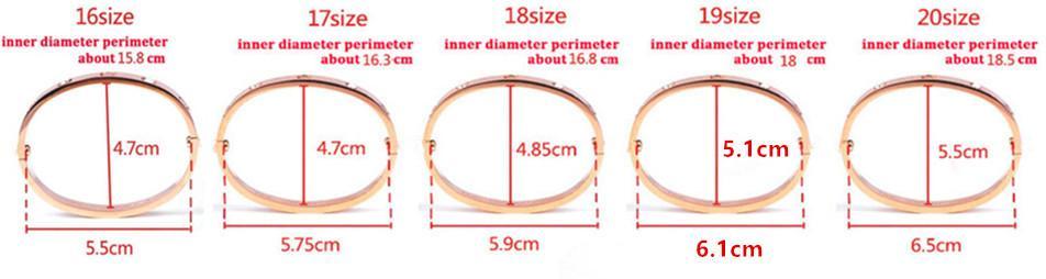 NEW STYLE love bracelet en acier au titane 316L avec bracelet à vis pour couple d'amoureux avec boîte d'origine